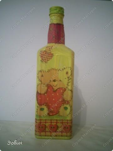 Первая бутылочка на которой получился кракюлюр. и поэтому любимая) фото 3