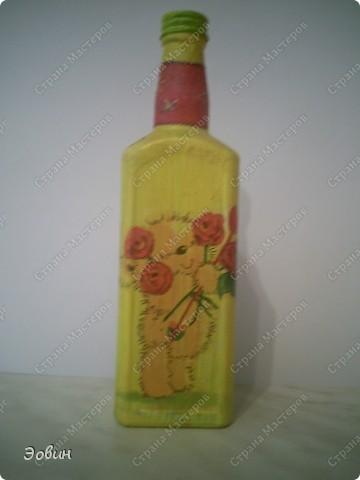 Первая бутылочка на которой получился кракюлюр. и поэтому любимая) фото 4