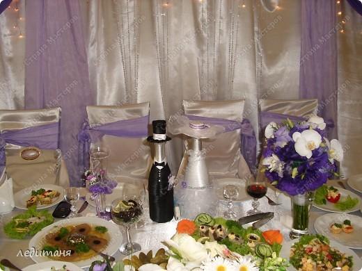 Мои свадебные бутылки по МК Олечки(gud) фото 7
