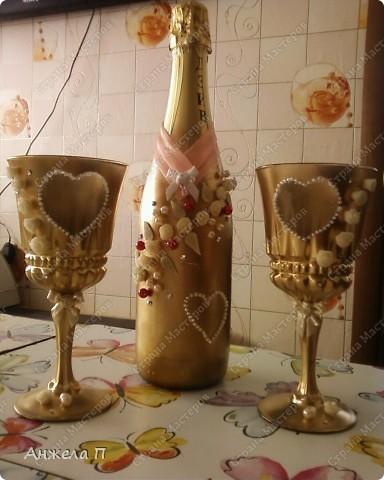 Моя первая бутылочка на годовщину свадьбы сестренки. фото 3