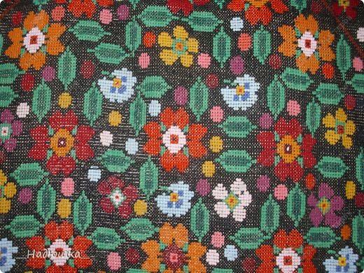 крестом Бабушкины вышивки