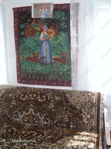 Бабушка моего мужа после выхода на пенсию вышивает и вяжет.  Были у нее недавно в гостях (она живет в Алтайском крае) Я подолгу сидела и разглядывала каждое творение. Столько труда, времени и терпения ушло. Покажу лишь малую часть, остальное раздарено фото 4
