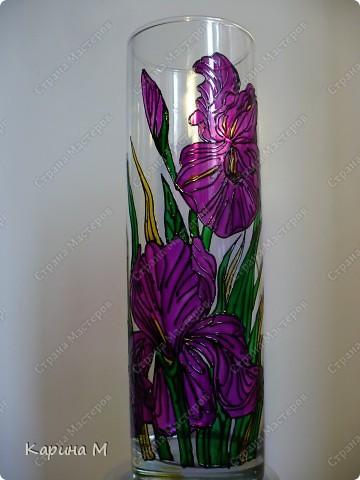 Доброго времени суток жители Страны, появилась у меня вот такая вазочка, в подарок на день рождение.  Только я как то не очень довольна результатом... Подскажите может чего-то не хватает? фото 1