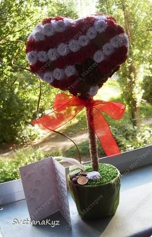 Для своей коллеги на день рождения решила сделать такое вот дерево.  фото 1