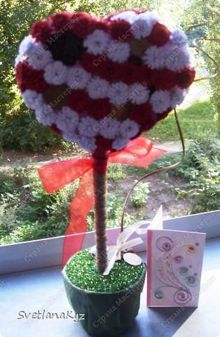 Для своей коллеги на день рождения решила сделать такое вот дерево.  фото 2