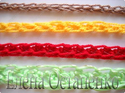 Мастер-класс Вязание Вязание крючком Эластичный наборный край крючком Пряжа фото 1