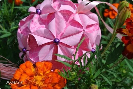 Кусудама Euphorbia фото 4