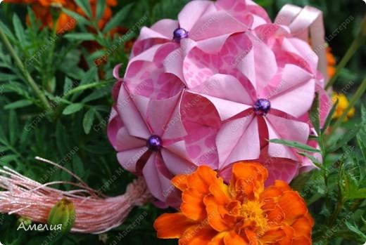 Кусудама Euphorbia фото 3