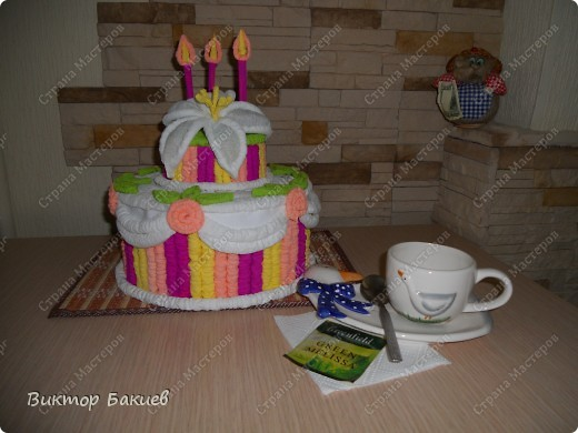 Замечательный торт! Очень аппетитный!  фото 1