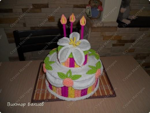 Замечательный торт! Очень аппетитный!  фото 2