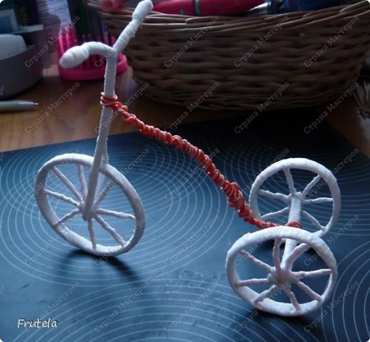 Насмотрелась я цветочных велосипедов,сделанных руками других мастериц ,вдохновилась и решилась на свой)) фото 17
