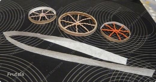 Насмотрелась я цветочных велосипедов,сделанных руками других мастериц ,вдохновилась и решилась на свой)) фото 8