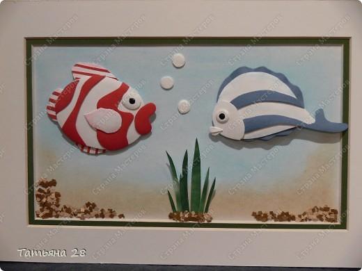 Сегодня сделала рыбок. И сразу захотелось Вам их показать))) фото 1