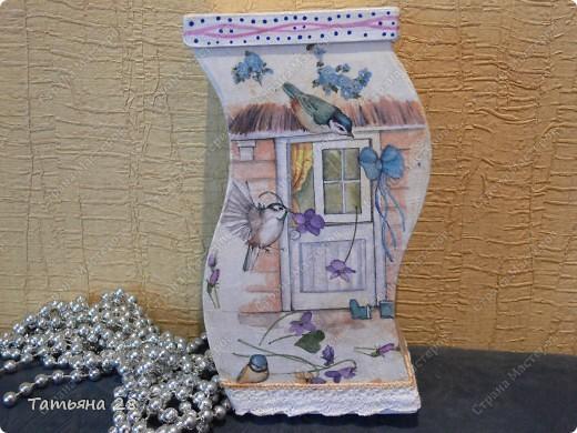 Пока я занималась бумагопластикой, у меня сох на балконе набор на кухню.  фото 5