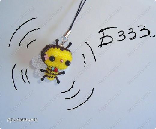 Пчёлка + схема Бисер фото