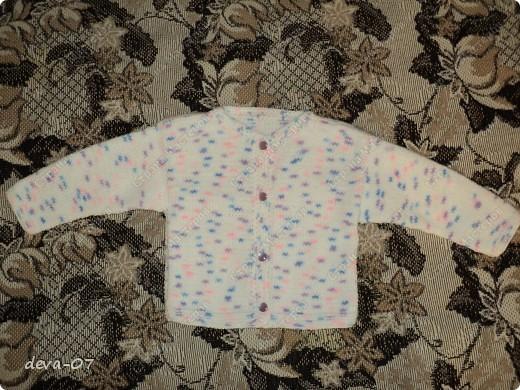 штанишки,кофточка и шапочка на ребенка  фото 2