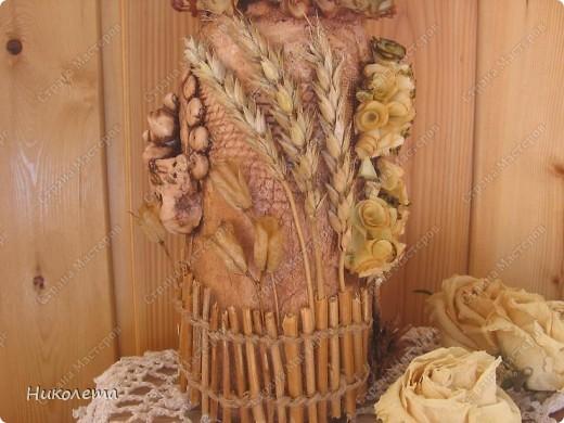 Поделки из колосьев пшеницы