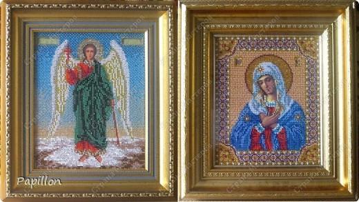 """Иконы """"Ангел Хранитель"""" и """"Богородица """"Умиление"""""""" фото 1"""