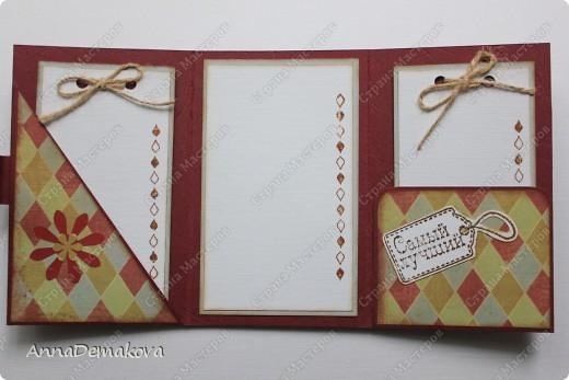 Всем здравствуйте!  Хочу показать вам открыточки, которые сделала по просьбе своих знакомых. Пришла к выводу, что открыточки всетаки лучше делать по заказу. Это намного интереснее, чем мастерить обычные простенькие открытки, ну по крайней мере для меня. Мне больше нравится делать сложные открытки, вот где фантазия должна работать.:) Первая открыточка на 30-ти летие молодому мужчине от жены.  фото 3