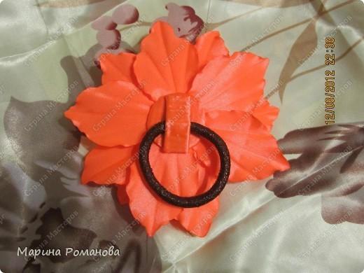 Моя первая лилия! Очень понравилось делать такую красоту! фото 3