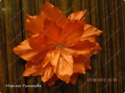 Моя первая лилия! Очень понравилось делать такую красоту! фото 5