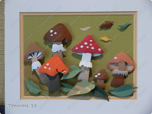 Поделки грибы с детьми
