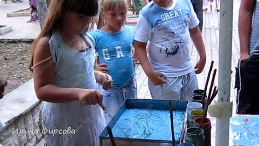 ЭБРУ - рисование на воде. фото 5