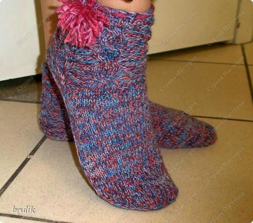 Носки с подошвой для дома фото 5
