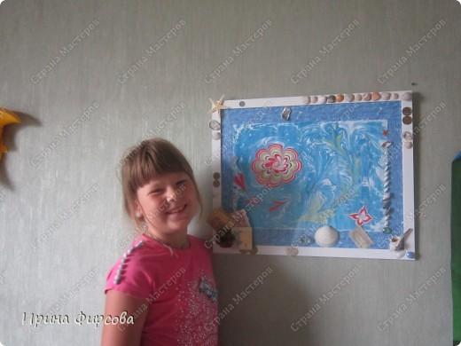 ЭБРУ - рисование на воде. фото 21