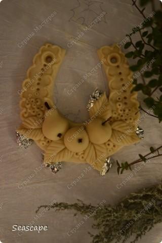 два яблочка, грушка, 5 листочков и сама подковка=)) Лепите в удовольствие! фото 4