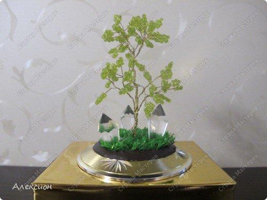 Дерево-светильник фото 1