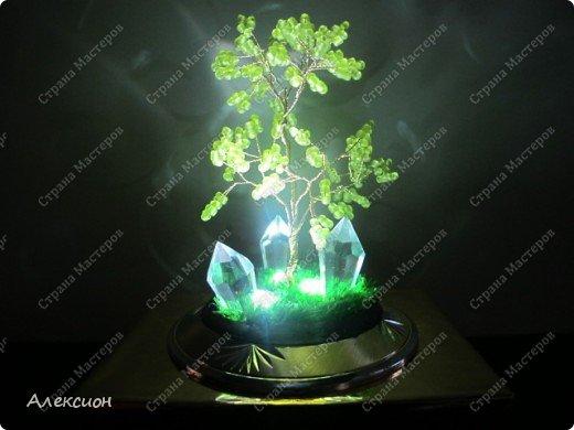 Дерево-светильник фото 2