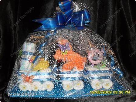 Здравствуйте дорогие мастерицы! На просторах интернета очень много фото с тортами из памперсов,просмотрев которые ,мне тоже захотелось их сделать. Что из этого получилось,судить вам......... Улитка.... фото 8