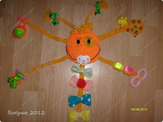 Создала своё солнышко по наставлениям Большой Медведицы, спасибо ей!!! http://stranamasterov.ru/node/278803?c=favorite. Немного изменила некоторые элементы. фото 1