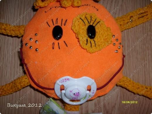 Создала своё солнышко по наставлениям Большой Медведицы, спасибо ей!!! http://stranamasterov.ru/node/278803?c=favorite. Немного изменила некоторые элементы. фото 4