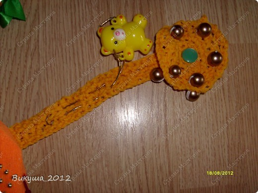Создала своё солнышко по наставлениям Большой Медведицы, спасибо ей!!! http://stranamasterov.ru/node/278803?c=favorite. Немного изменила некоторые элементы. фото 3