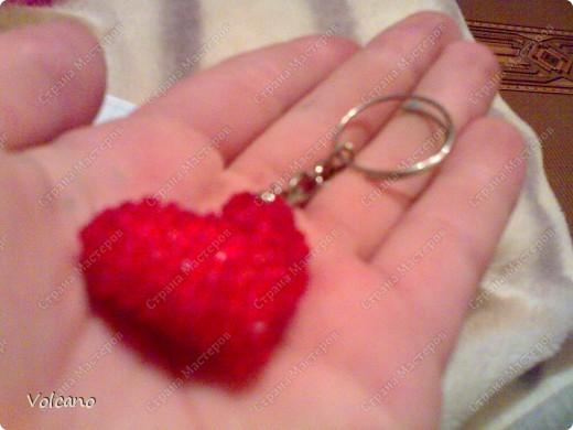 Брелок Сердце + схема