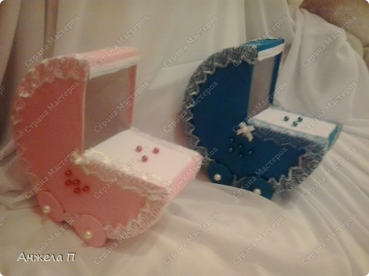 Вот и колясочки для проведения гадания на свадьбе. фото 3