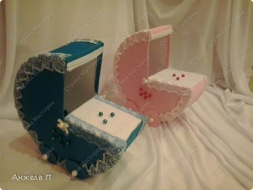 Вот и колясочки для проведения гадания на свадьбе. фото 1