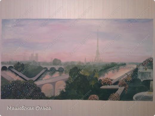 Эта работа-мой первый опыт в росписи стен. фото 1