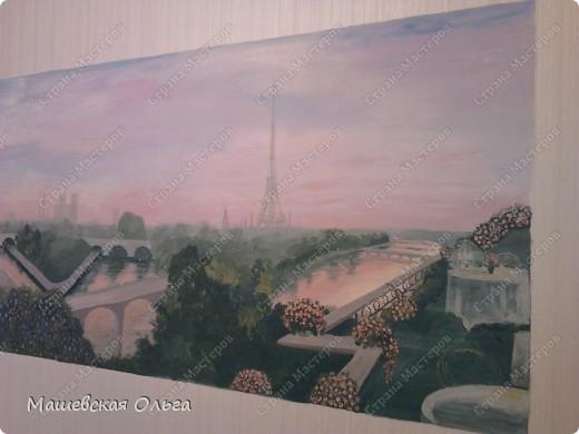 Эта работа-мой первый опыт в росписи стен. фото 2