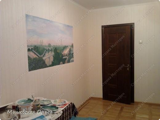 Эта работа-мой первый опыт в росписи стен. фото 5