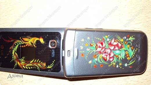 Роспись мобильника фото 2