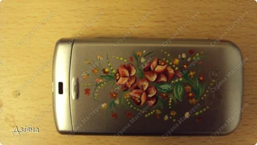 Роспись мобильника фото 3