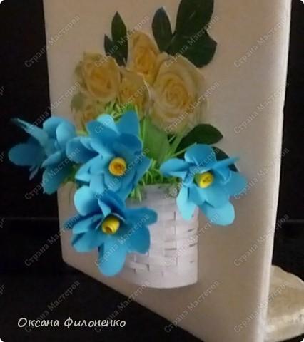 розы и незабудки фото 2