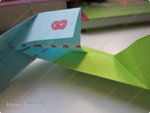 Радужная пружинка СЛИНКИ оригами))) фото 38