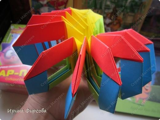 Радужная пружинка СЛИНКИ оригами))) фото 48