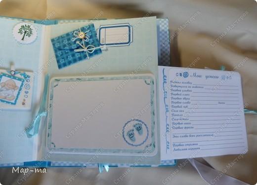 Скрапбукинг фотоальбом для новорожденных своими руками