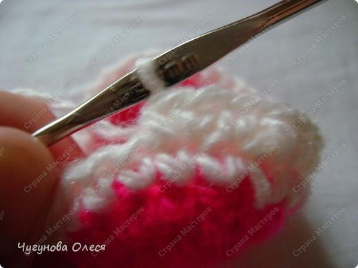 Гардероб Мастер-класс День рождения Вязание Вязание крючком МК пинетки Коровы Нитки фото 9