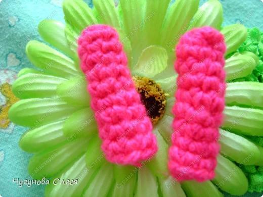 Гардероб Мастер-класс День рождения Вязание Вязание крючком МК пинетки Коровы Нитки фото 19
